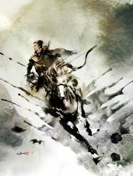 Wuxia Magazine cover by Jungshan