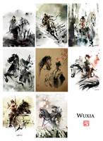 Wuxia Series Jan-Aug