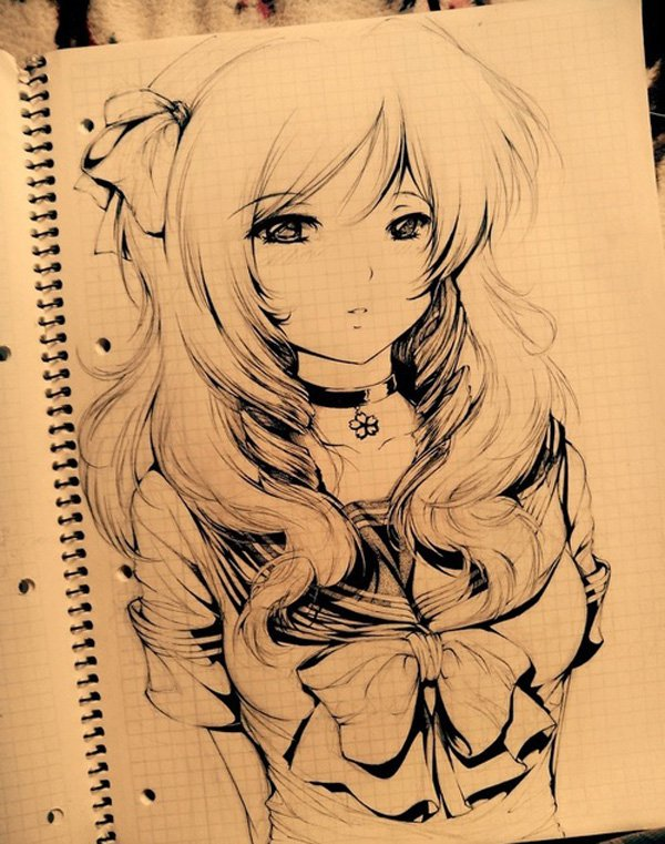 Anime drawing by Nickilove1207