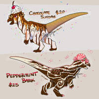 Dinovember Pachy adopts (2/2)