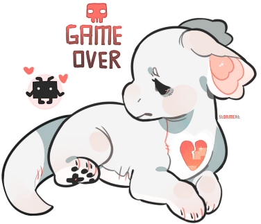 Game Over Plush Dragon Auction CLOSED by stormcat