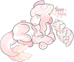 Princess Jellyfish Plush Dragon Auction - CLOSED