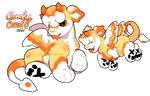 AUCTION: Candy Corn Devil PD (Closed - Thank you!)