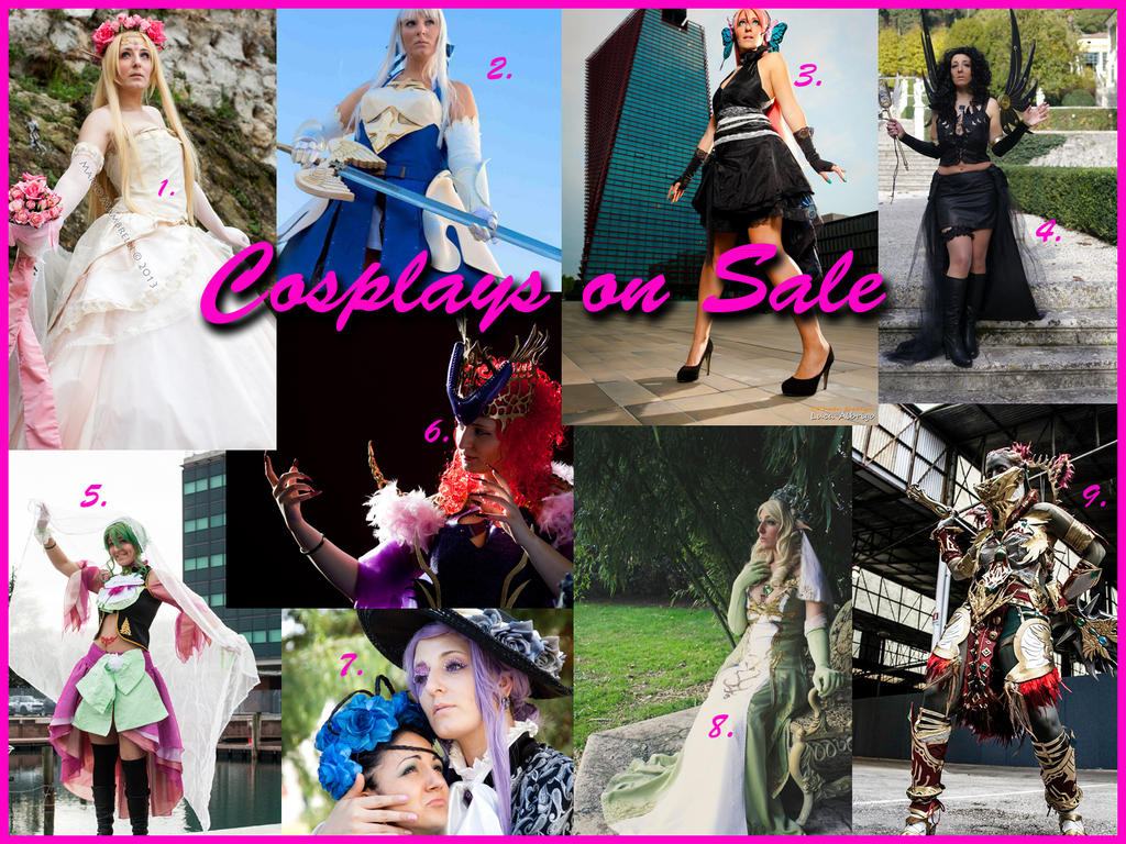 Cosplay On Sale by CalipsoCosplay