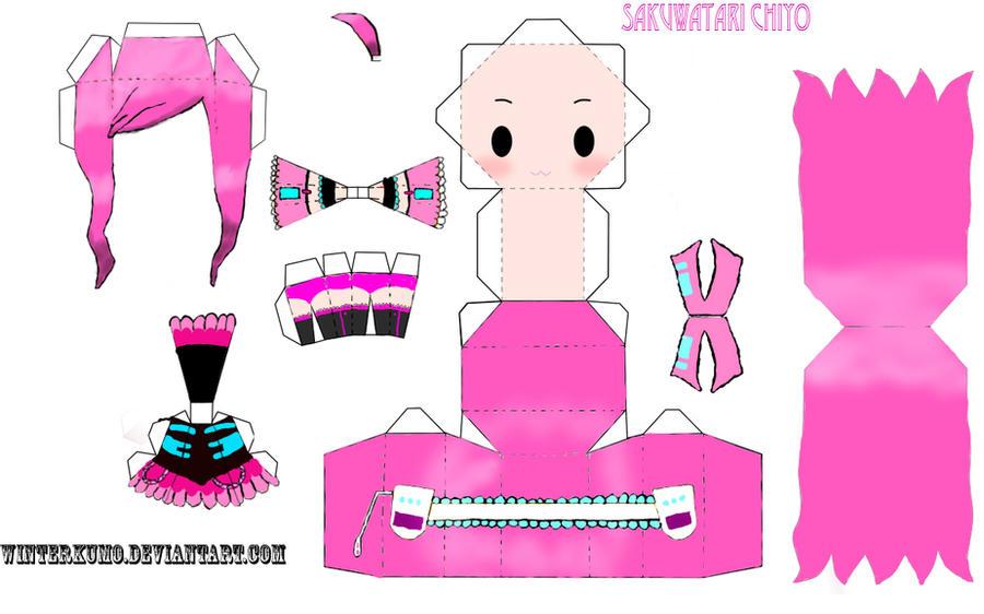 Chiyo papercraft template by winterkumo on DeviantArt aPQMF3kA