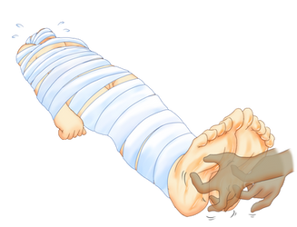 Mummified Tickles 3 by Mellowtk