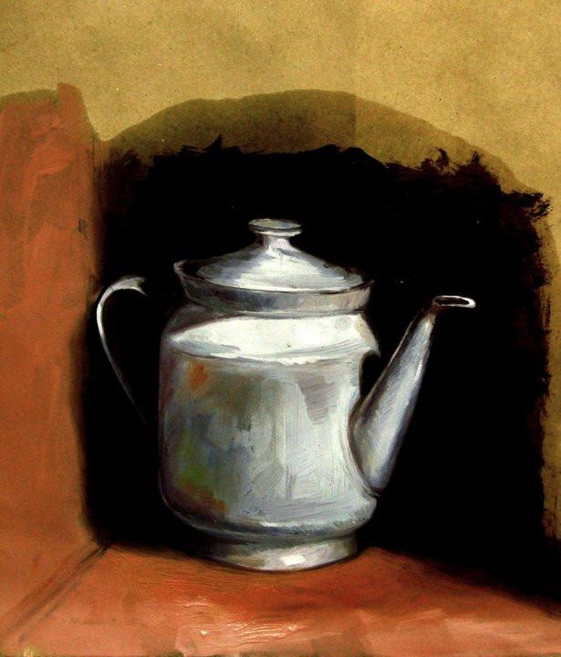 tea pot by sculptorandpainter