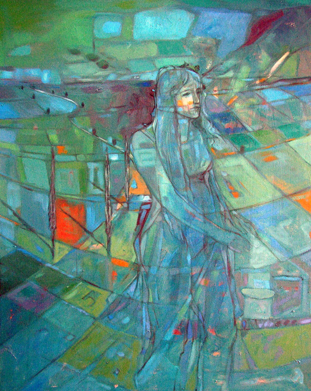 woman in nature by sculptorandpainter