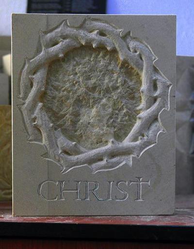 crown of jesus by sculptorandpainter