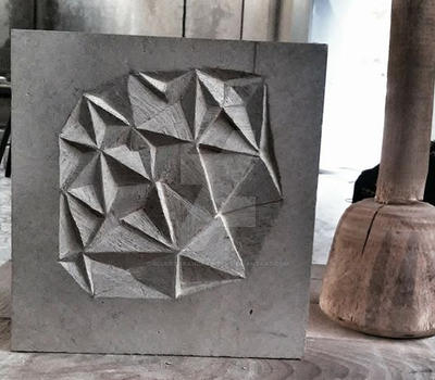 stone ornament by sculptorandpainter