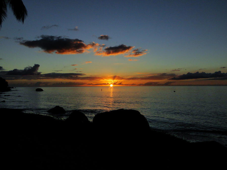 """As the Sun says """"Good Night."""" by Rhubaton"""