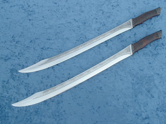 Twin Short Swords by LongshipArmoury