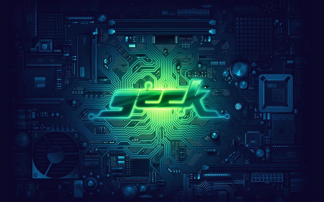 geek wallpaper by foxghent on DeviantArt