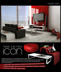 3d interior - sporty bold