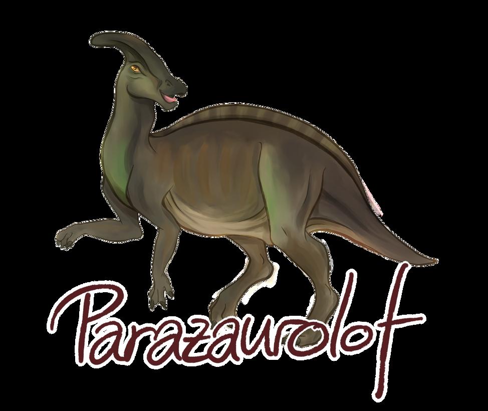 Parazaurolof by PinkieCupcake