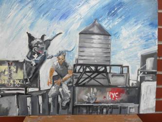 brooklyn man by Messydog