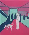 Dog walk in Brooklyn, NY by Messydog