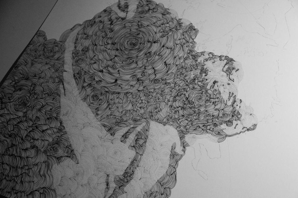 Portrait in progress by Bergspot