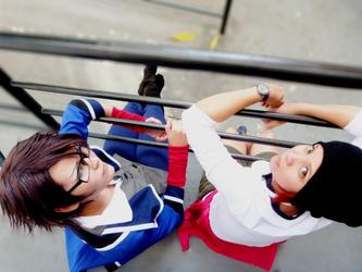 Fushimi and Yata