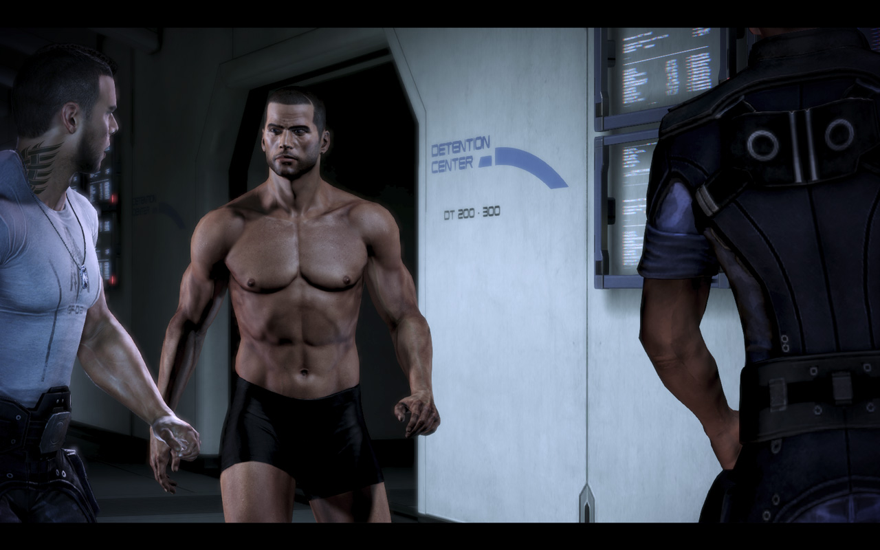 Can not shepard naked body mass effect excellent and