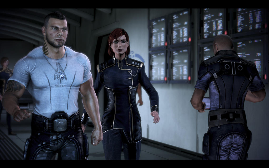 mass effect 2 how to add casual outfits