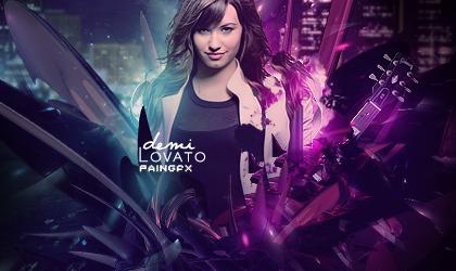 Demi Lovato Signature by Pain-Geo