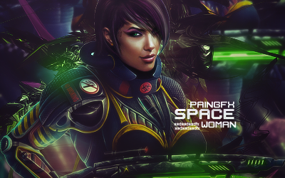 Space Woman by Pain-Geo