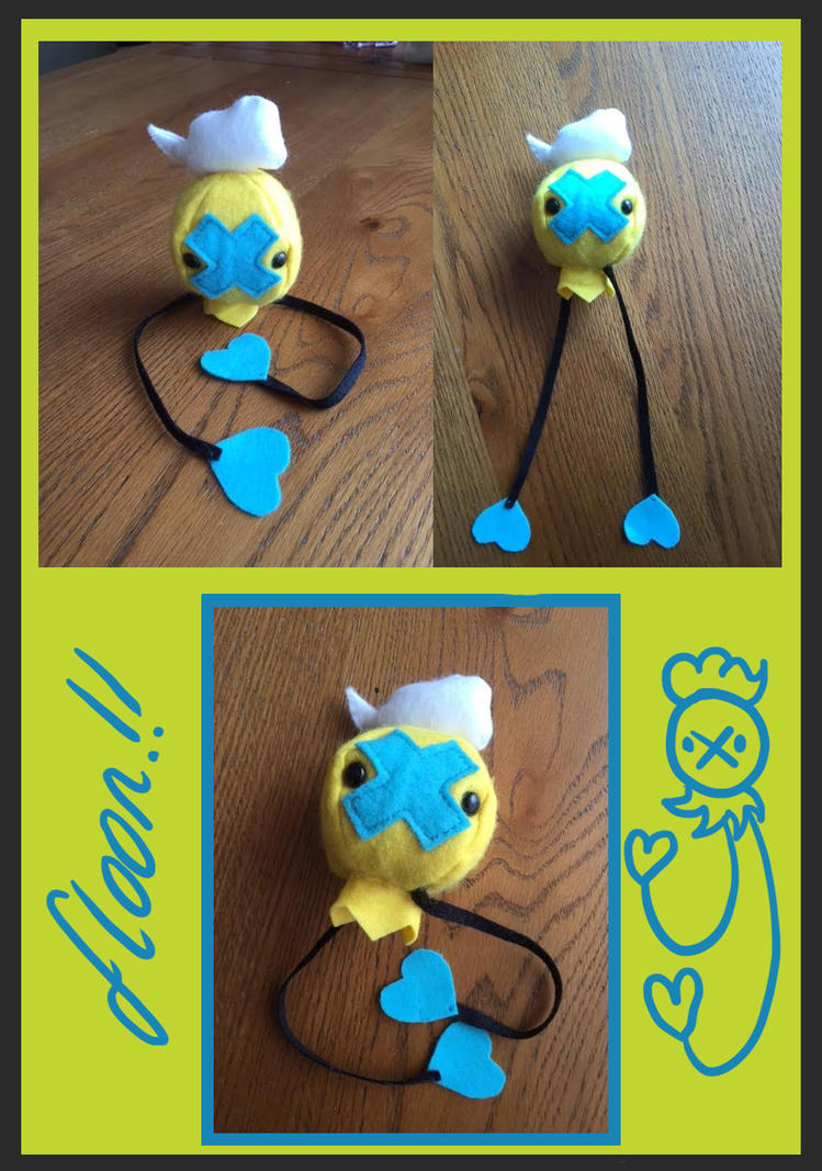 Shiny Drifloon Plush by Myklor