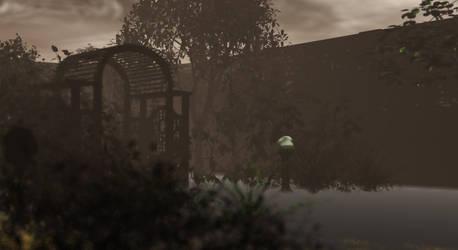 spooky yard