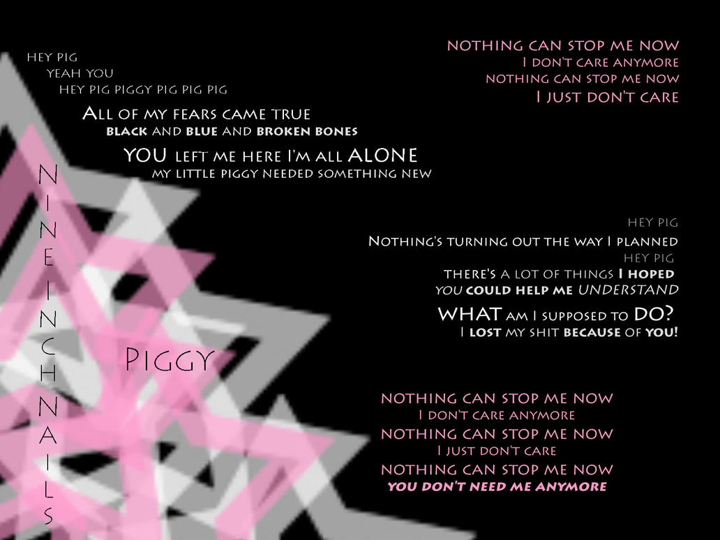 Nine Inch Nails - Piggy by Hyppno on DeviantArt