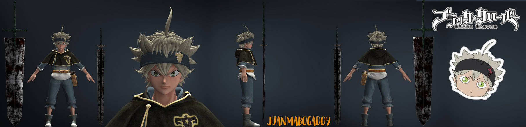 Jump Force Asta By Juanmabogado9 On Deviantart