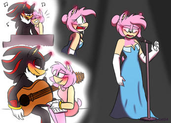 A Star Is Born Shadamy Sketches by SUGARKITTYCAT04
