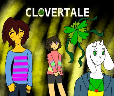 Undertale: CloverTale/UnderLucky by LyraKagamine010