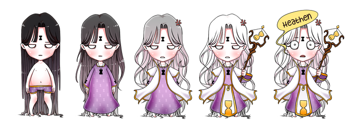 KofK - Hourglass Priest [WIP]