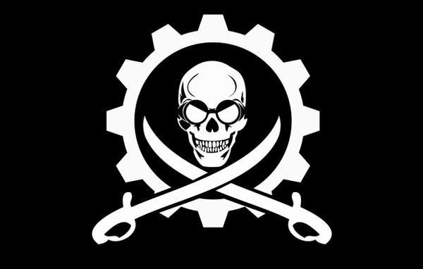 Airship Pirates flag by RabidusPsyche