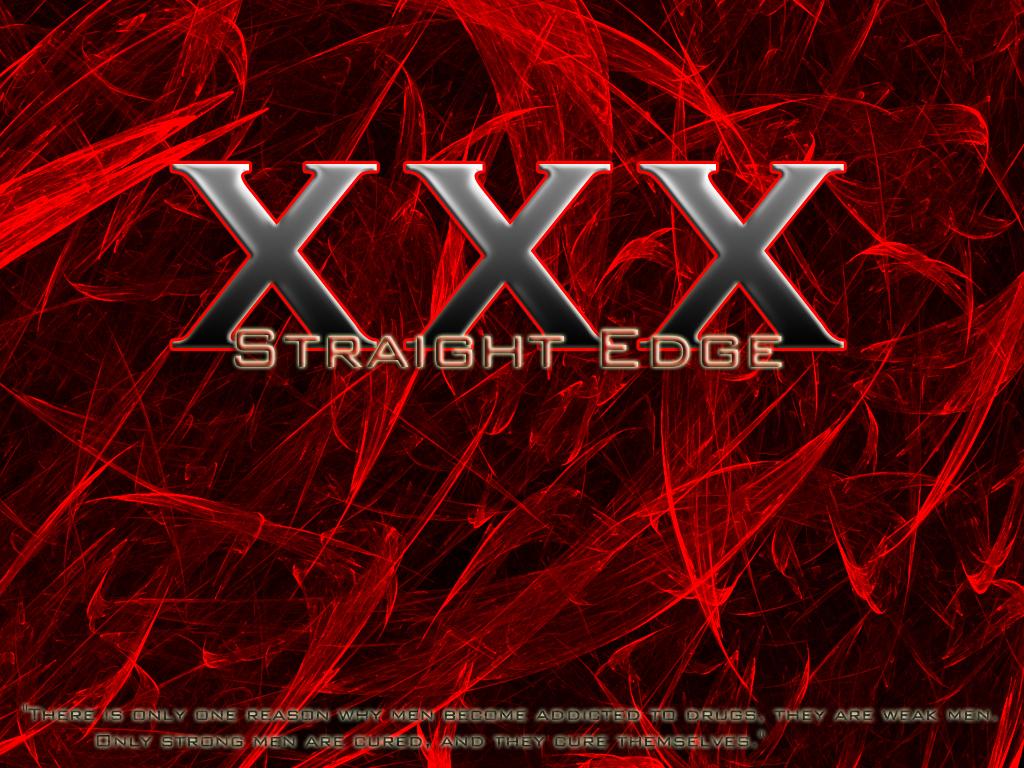 Straight Edge By Xxdocho11idayxx On Deviantart