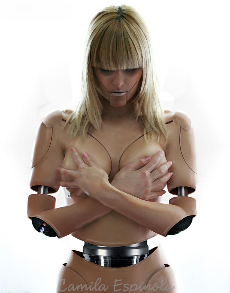 Robot Nude by CamilaEspinola