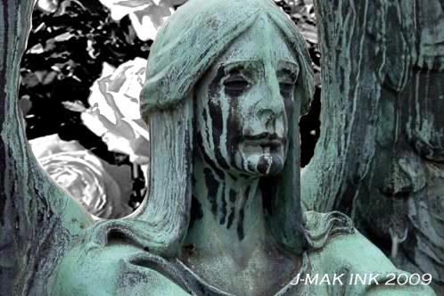 'Black Rose Immortal' by J-MakINK