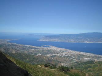 la calabria vistA DAlla sicilia by kloklo