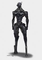 Combat Robot by GAORANYU