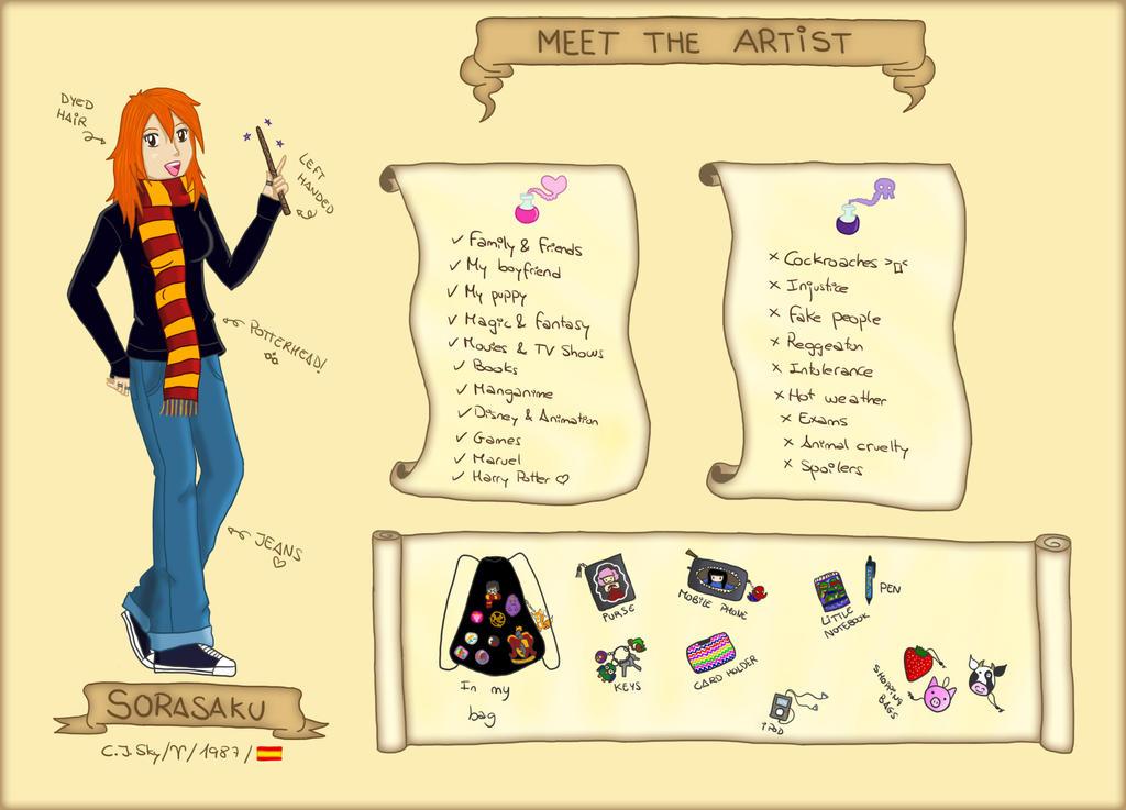 Meet the Artist by sorasaku-hermi
