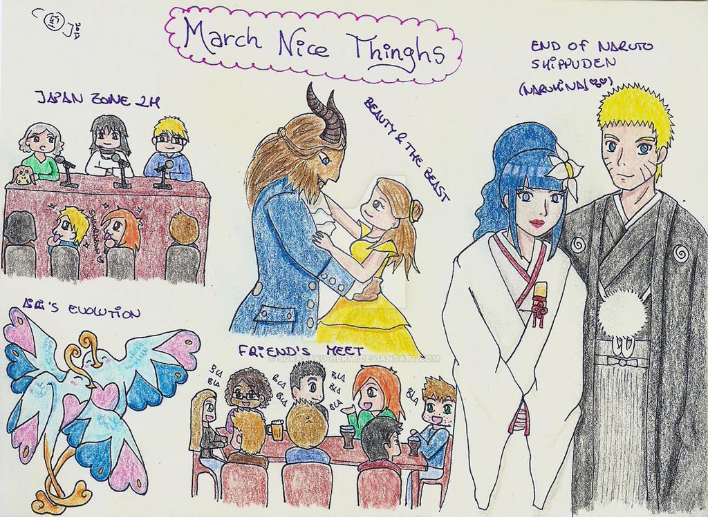 March Nice Things by sorasaku-hermi
