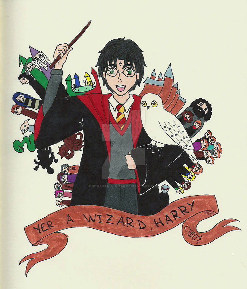 Yer a Wizard Harry