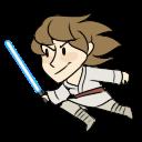 Luke Skywalker shimeji by mechanicalanakal