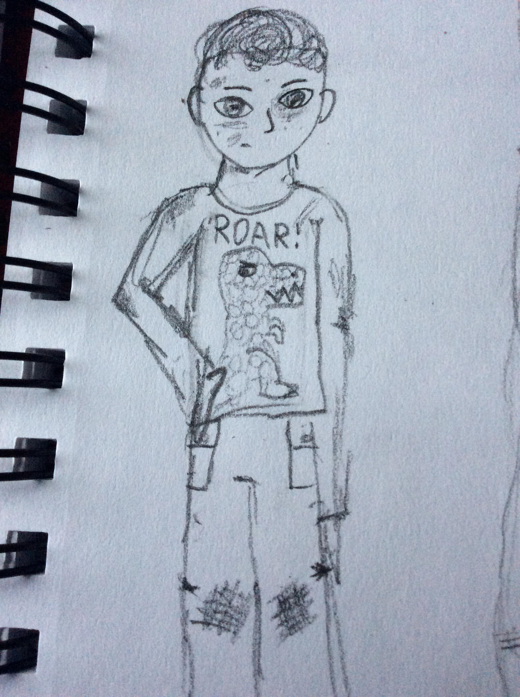 Grass stains Kid by TheOtherBillionaire