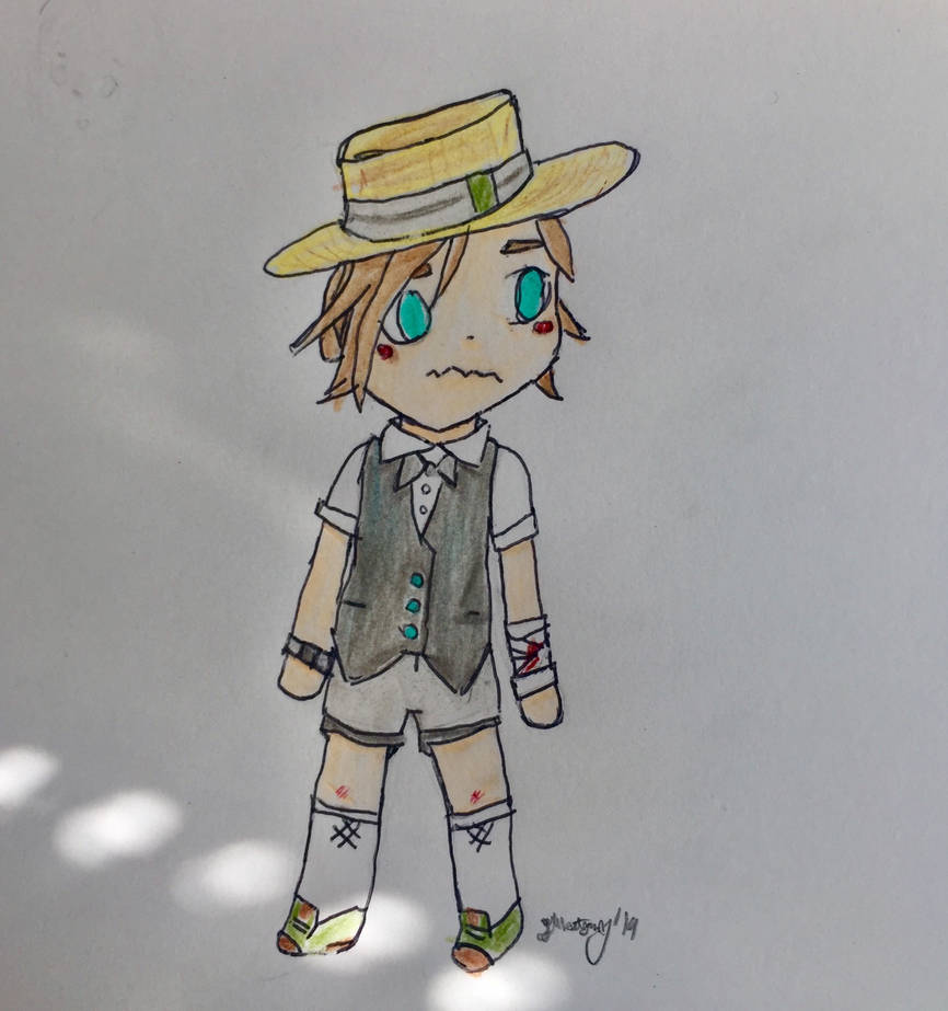 Monty Chibi by TheOtherBillionaire