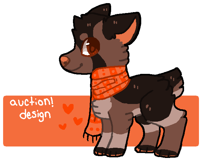 Design auction- point auction by plumcats