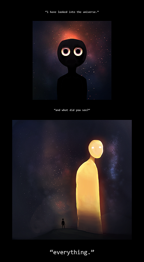 Ours Is The Universe by mumblingRain