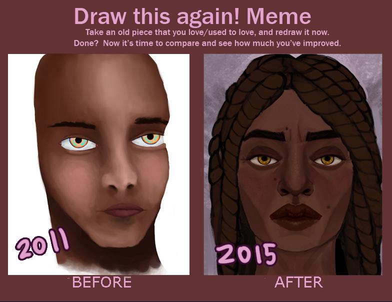 Improvement Meme by mumblingRain