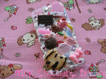 Sweet Pink Decoden iPhone Case by Frainy